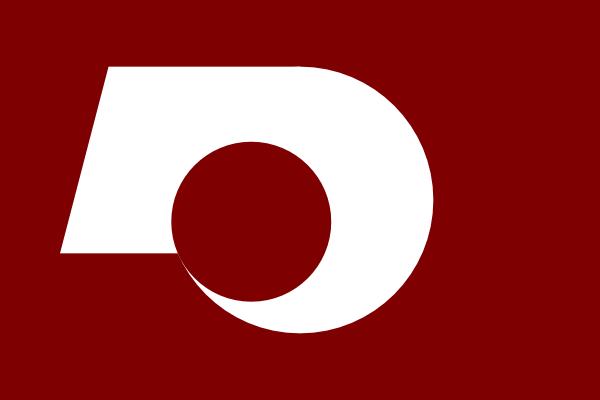 Flag Of Kumamoto clip art Free Vector / 4Vector.