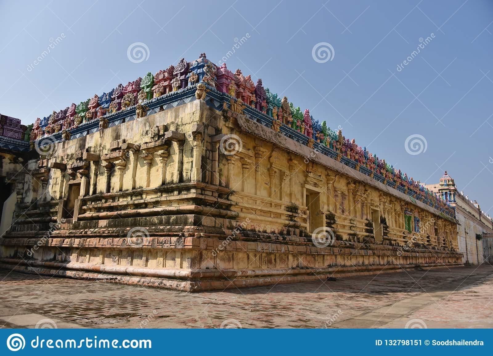 Adi Kumbeswarar Temple, Kumbakonam ,Tamil Nadu Stock Image.
