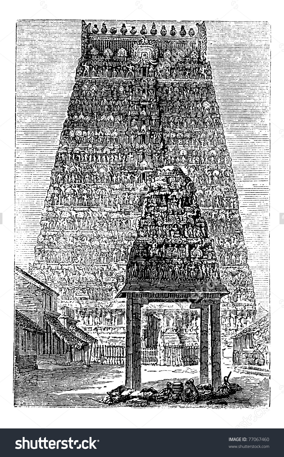 Kumbakonam Or Coombaconum, In Tamil Nadu, India, During The 1890s.