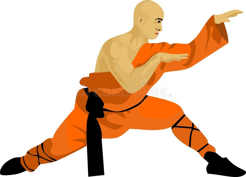 Kungfu Stock Illustrations.