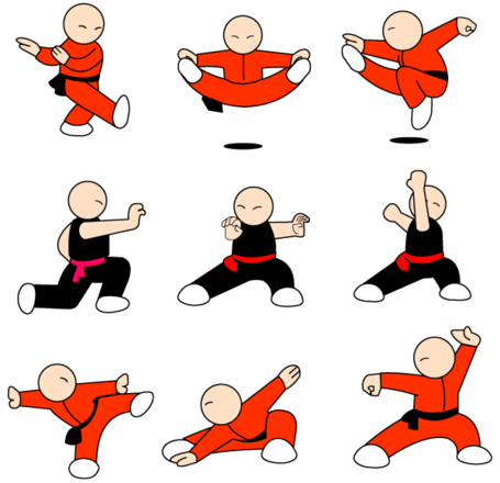 Free Kung Fu Character Free Vector Packs Clipart and Vector.