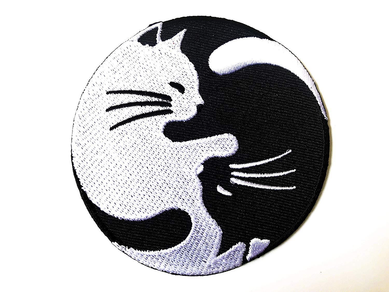 Tyga_Thai Brand Cat Yin Yang Kung Fu Chinese Tao Balance.