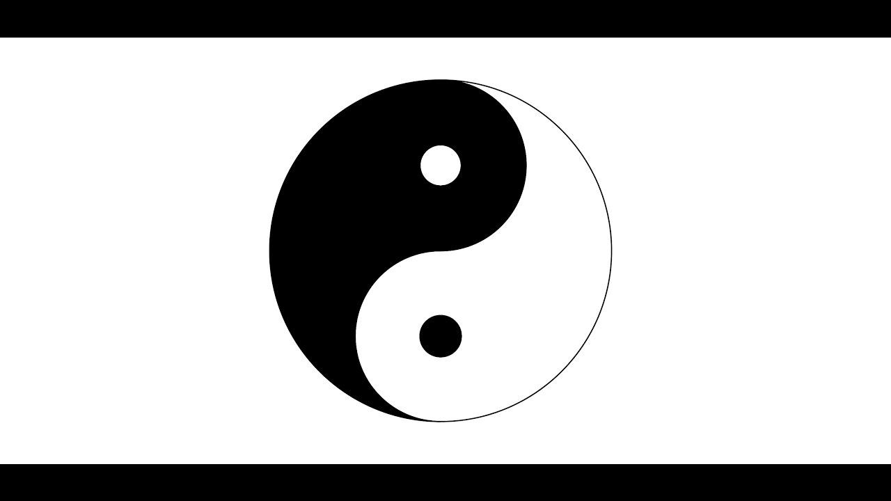 Kung Fu Symbol Design in Adobe Illustrator.