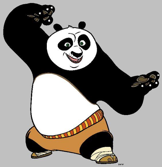 Kung Fu Panda Clipart.