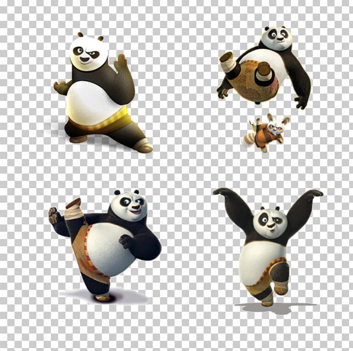 Po Giant Panda Master Shifu Kung Fu Panda Tai Lung PNG, Clipart.