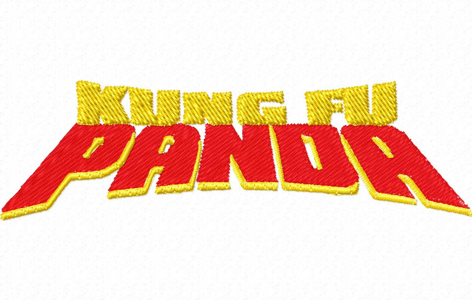 Kung fu panda Logos.