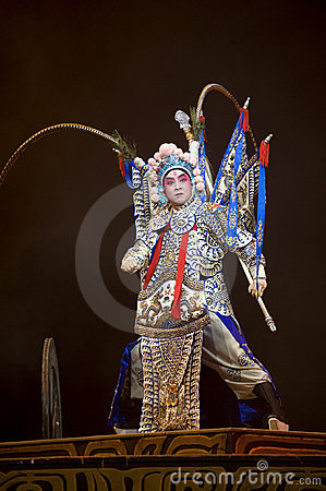 Chinese Kunqu Opera : Gongshunzidu Editorial Photo.