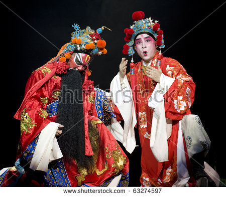 Opera China Stock Photos, Royalty.