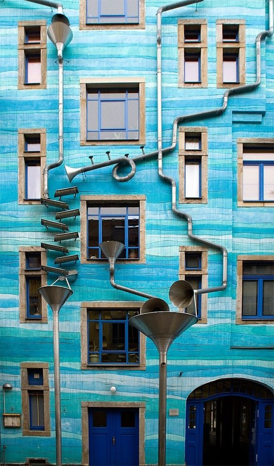 Artists Turn Building Facade Into A Giant Musical Instrument In.