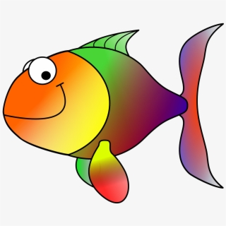Animated Fish Transparent Clipart , Png Download.
