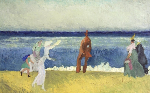 Lyonel Feininger at the Kunstmuseum Ahrenshoop:.