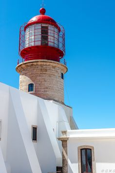 Lighthouse Sao Vicente during sunset, Sagres Portugal by Bastian.