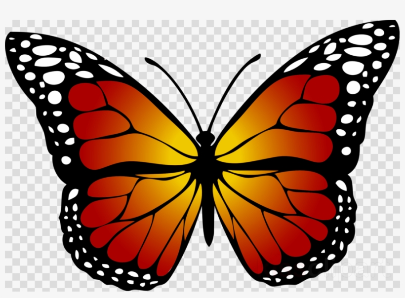 Yellow Butterfly Clipart Butterfly Insect Clip Art.