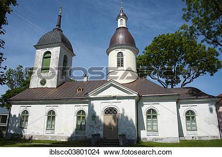 "Stock Photo of ""Orthodox St. Nicholas Church, Kuressaare, Saaremaa."