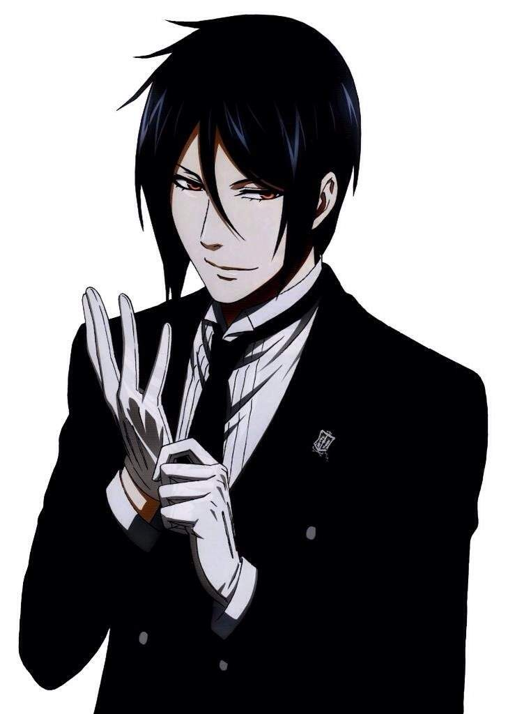 Black Butler Sebastian Clipart.