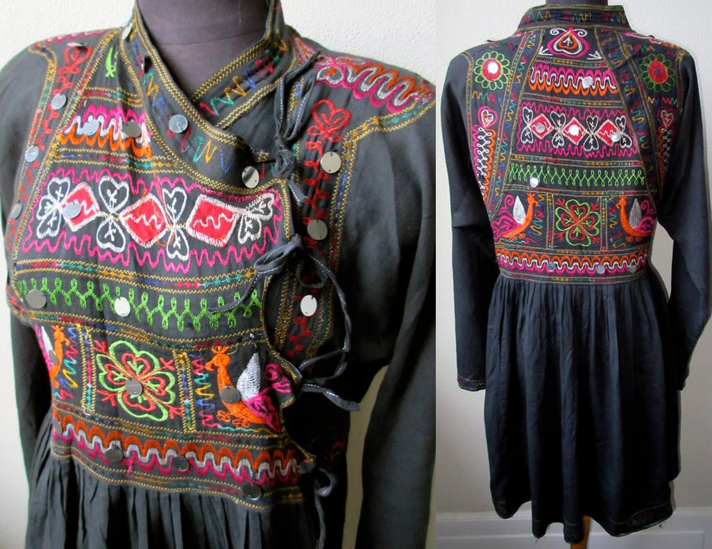 Kutch embroidered.