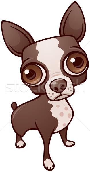 Cute Puppy Dog vector illustration © John Schwegel (fizzgig.