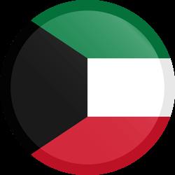 Kuwait flag clipart.