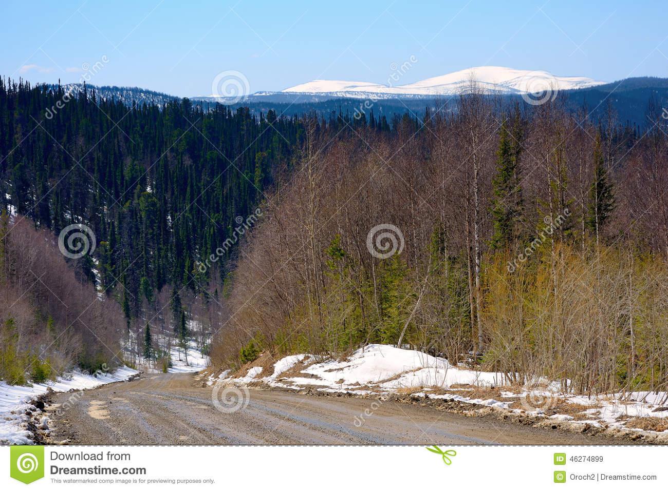 Mountain Range Of The Kuznetsk Alatau Stock Photo.