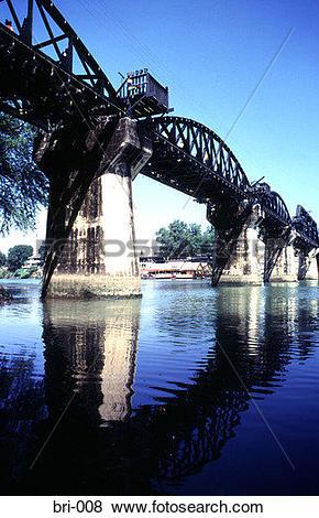 Pictures of Kwai Rail Bridge Thailand bri.