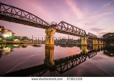 Bridge Over The River Kwai Stock Photos, Royalty.