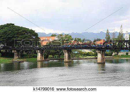 Stock Images of The River Kwai Bridge k14799016.