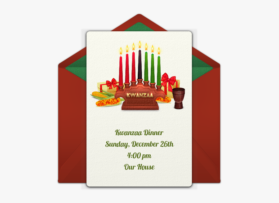 Transparent Kwanzaa Candles Png.