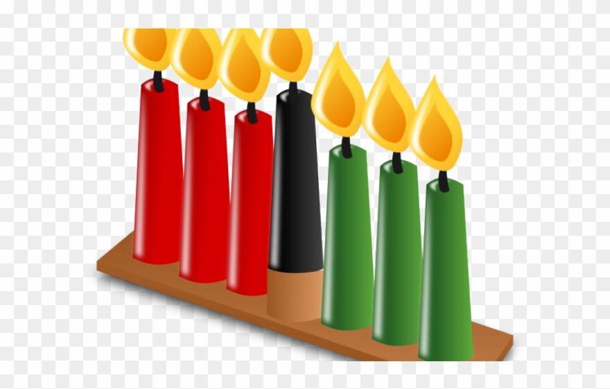 Candles Clipart Kwanza.
