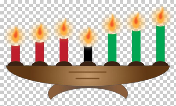 Kwanzaa Kinara Christmas Candle , candle PNG clipart.