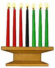 Kwanzaa Candles.