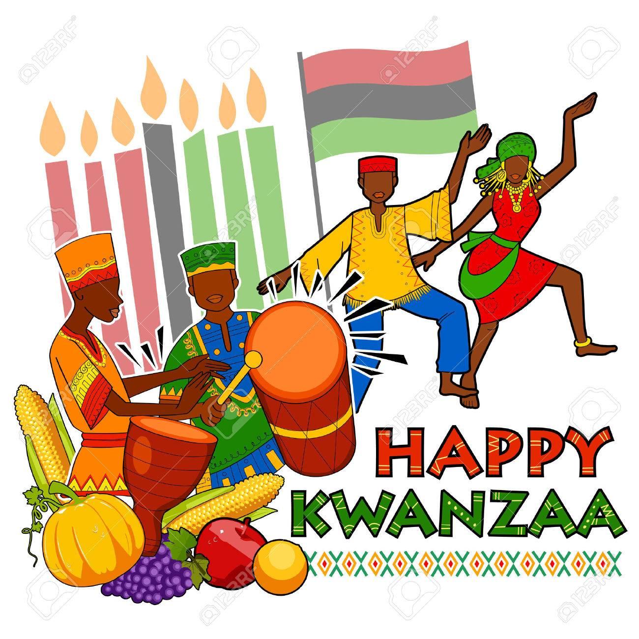 75 Kwanzaa free clipart.