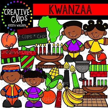 Kwanzaa Clipart {Creative Clips Clipart}.