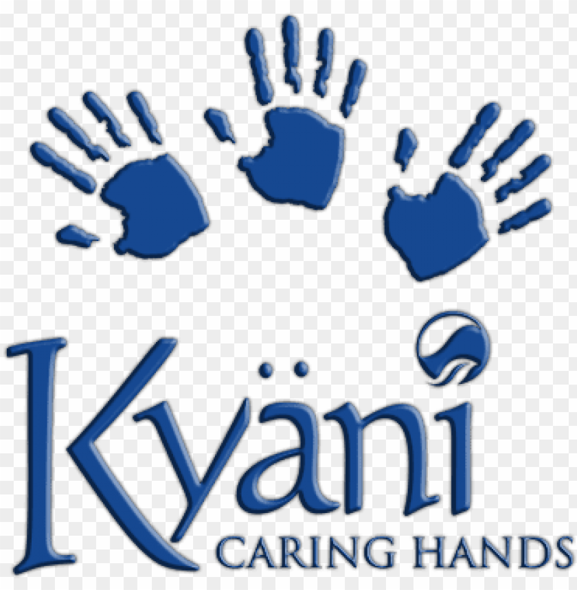 kyani caring hands logo PNG image with transparent.