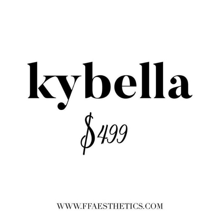 All members get access to KYBELLA for ONLY $499/vial.
