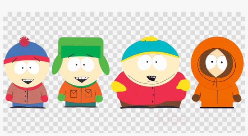 South Park Stan Kyle Cartman And Kenny Clipart Stan.