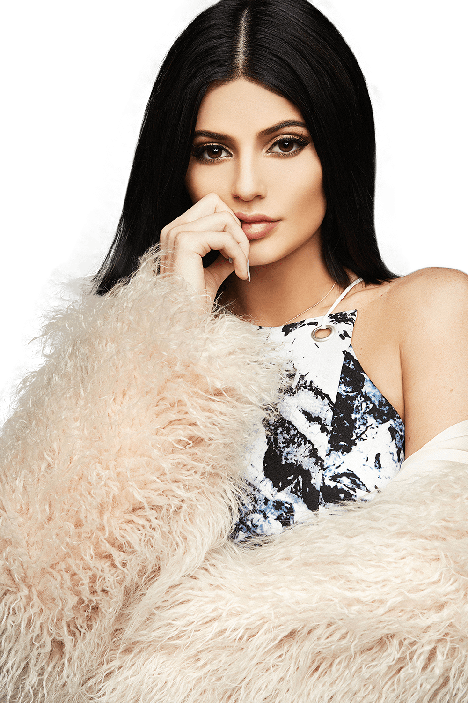 Kylie Jenner Silence transparent PNG.