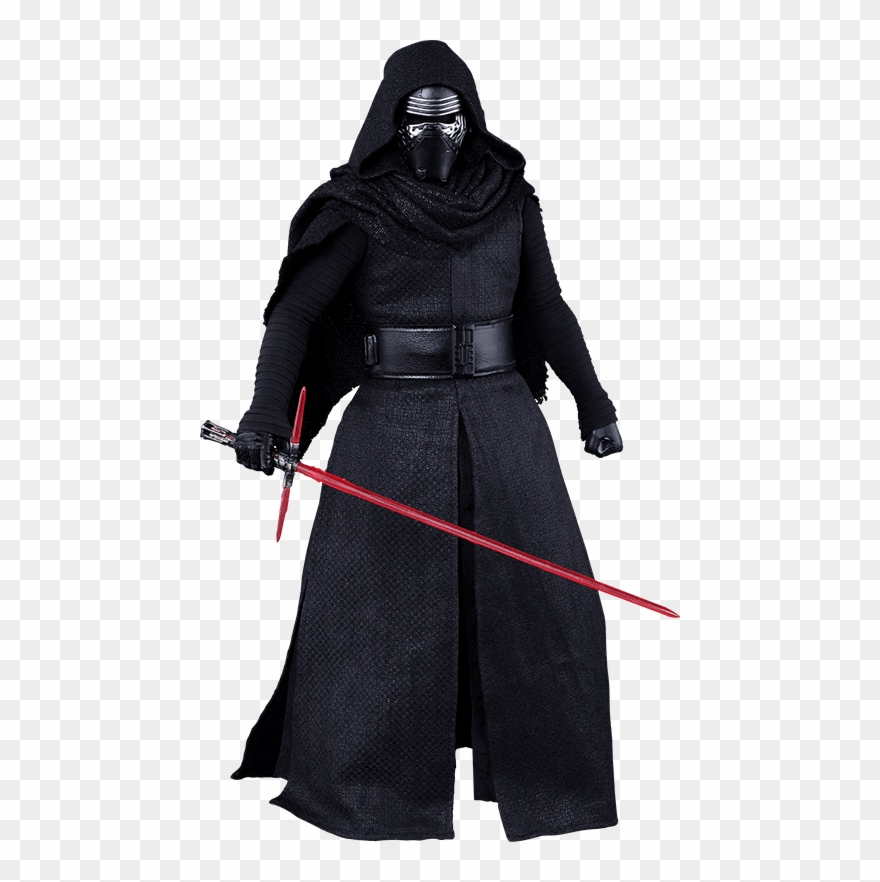 Hot Toys Kylo Ren Figure From Star Wars The Force Awakens Clipart.