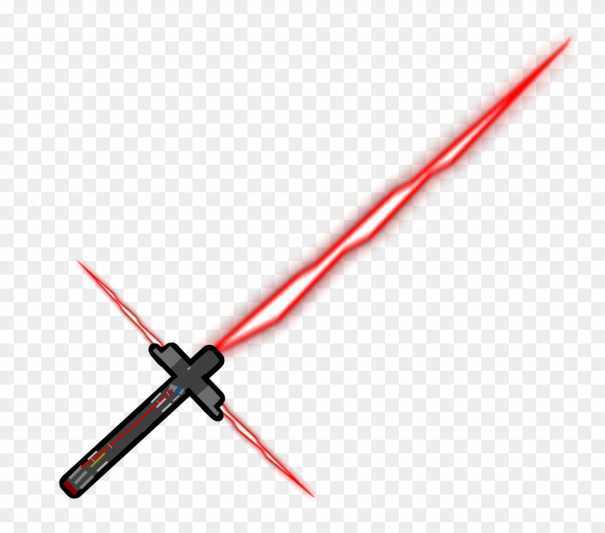 Kylo Rens Lightsaber By Cr.