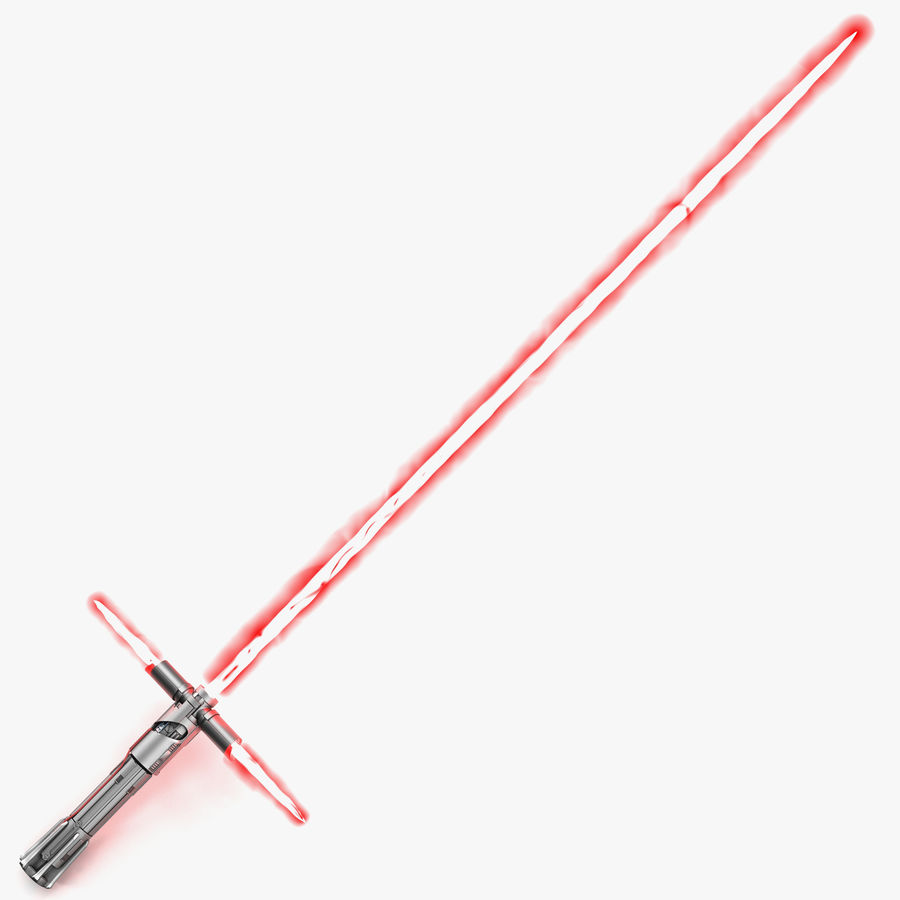 Star Wars Kylo Ren Lightsaber 3D Model 3D Model $29.