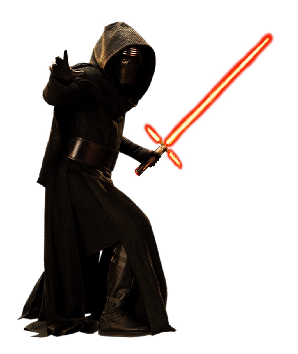 PNG Kylo Ren (Star Wars, The Last Jedi, Force Awakens).