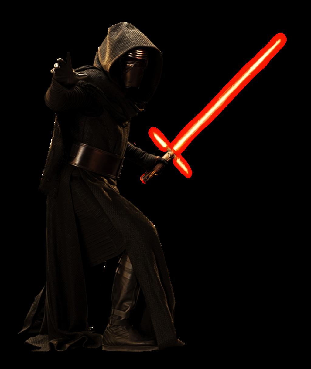 PNG Kylo Ren (Star Wars, The Last Jedi, Force Awakens).