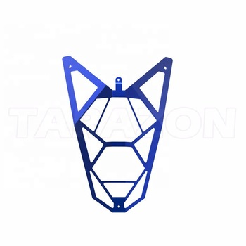 Scooter Aluminum Lamp Cover For Kymco Agility Spare Parts.