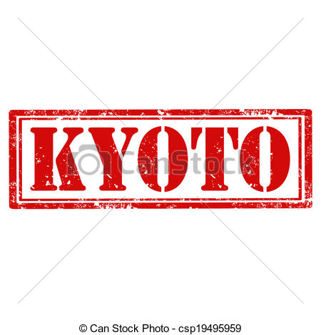Clipart Vector of Kyoto.