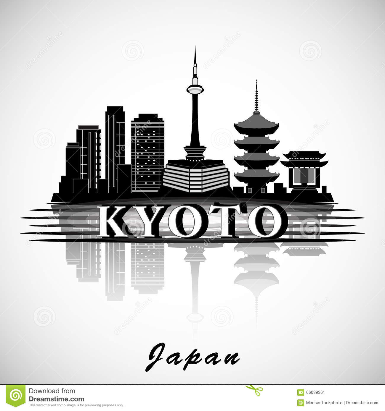Kyoto clipart.