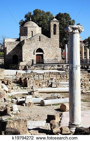 Stock Photo of Agia Kyriaki, Pahos, Cyprus k19794272.