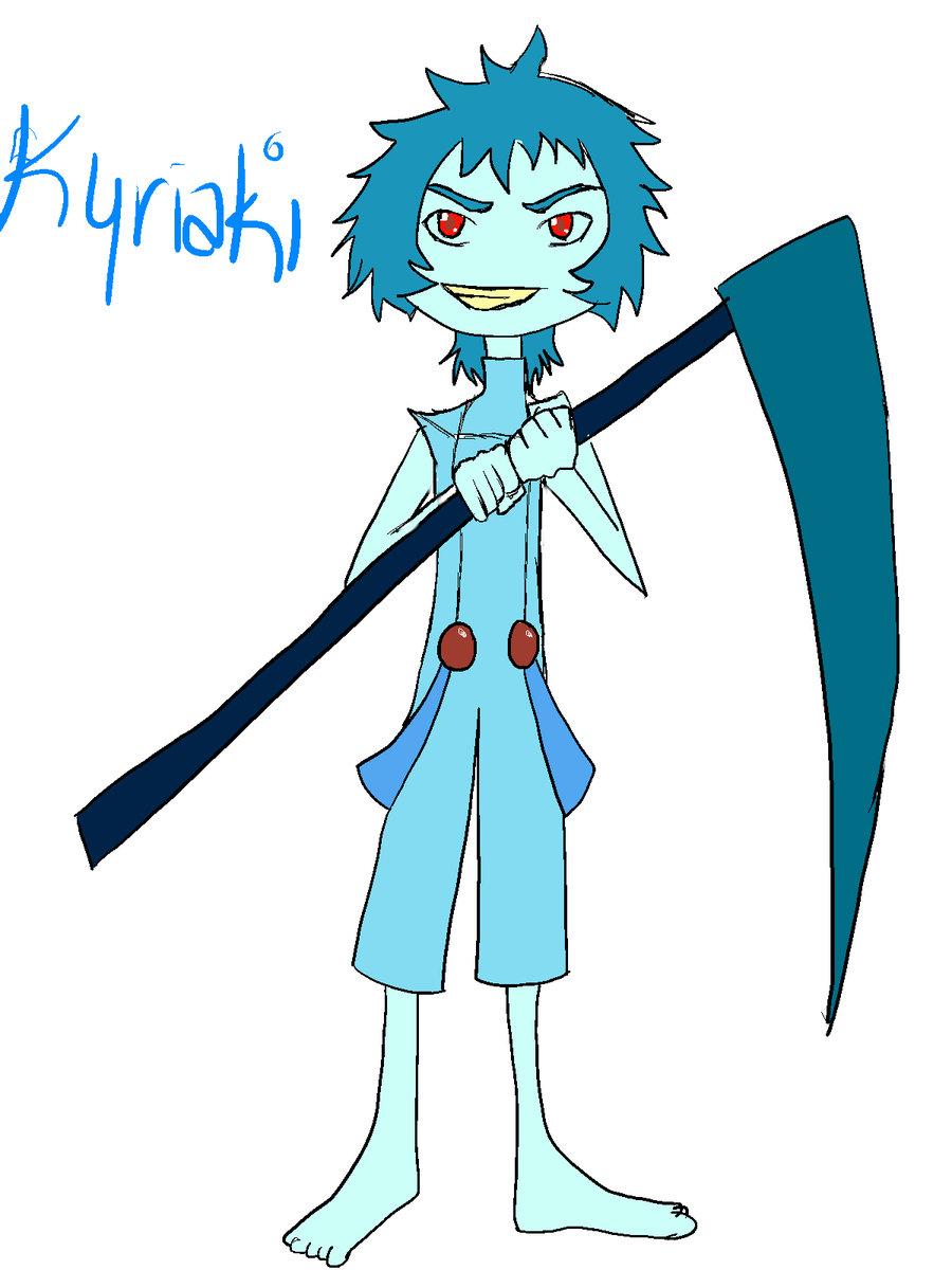 Humanoid Kyriaki by Zelda0bsessi0n on DeviantArt.