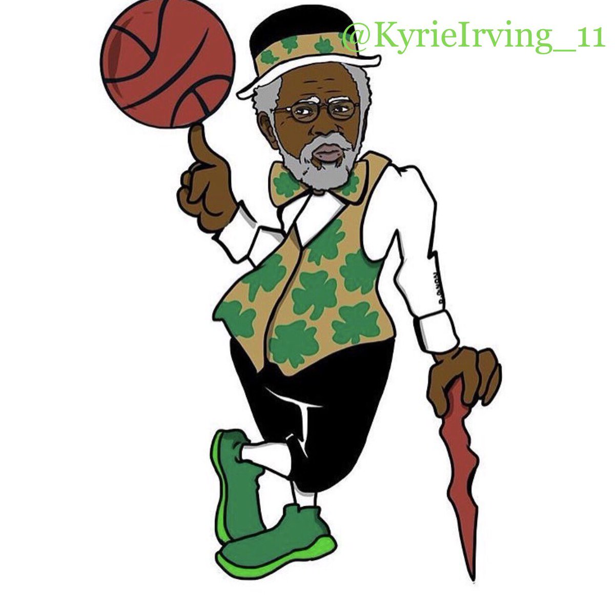 Kyrie Irving Drawing.
