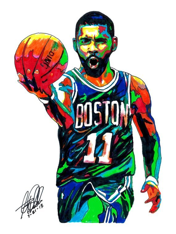 Kyrie irving clipart 5 » Clipart Portal.
