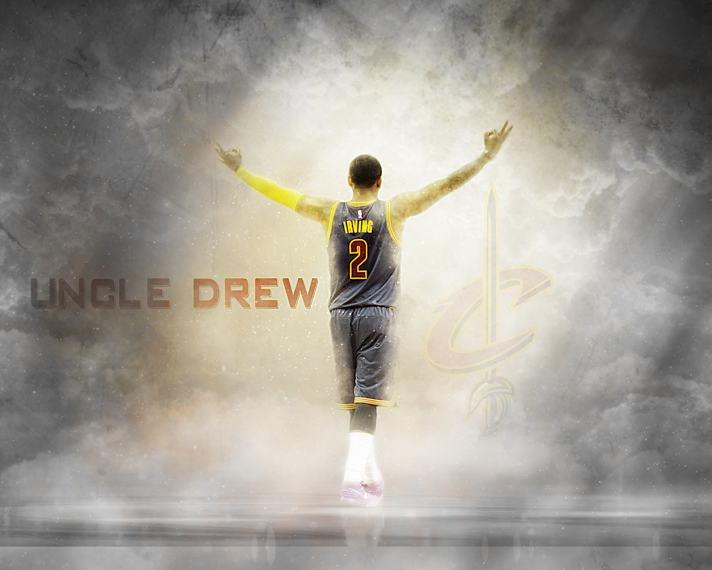 Kyrie Irving Logo Shoes Wallpapers.
