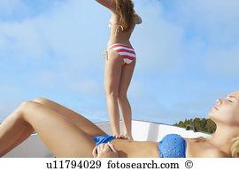 Teenage girls sunbathing boat Stock Photos and Images. 22 teenage.
